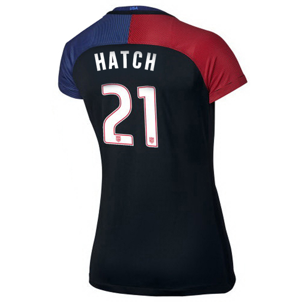 2016/2017 Ashley Hatch Stadium Away Jersey USA Soccer #21