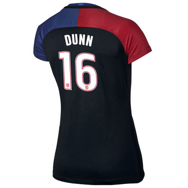 2016/2017 Crystal Dunn Stadium Away Jersey USA Soccer #16