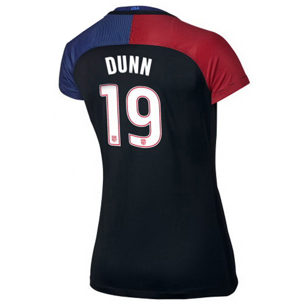 2016/2017 Crystal Dunn Stadium Away Jersey USA Soccer #19