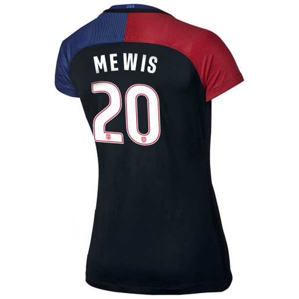 2016/2017 Samantha Mewis Stadium Away Jersey USA Soccer #20