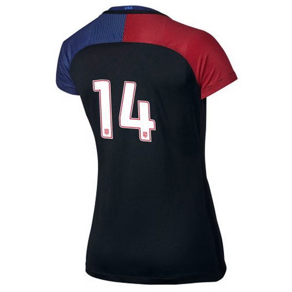 2016/2017 Number Fourteen Stadium Away Jersey USA Soccer #14
