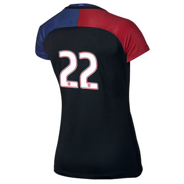 2016/2017 Number Twenty-two Stadium Away Jersey USA Soccer #22