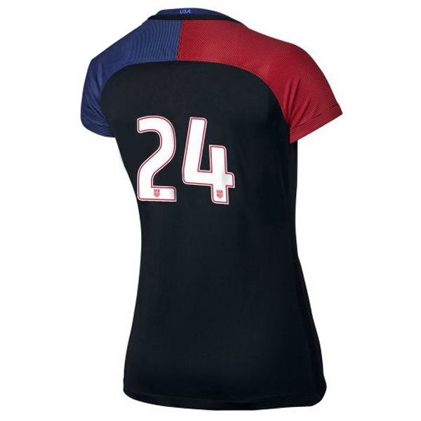 2016/2017 Number Twenty-four Stadium Away Jersey USA Soccer #24
