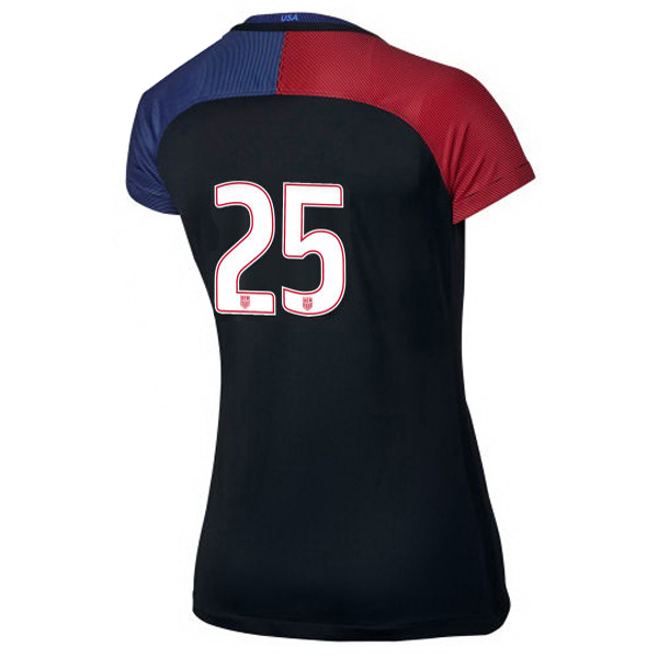 2016/2017 Number Twenty-five Stadium Away Jersey USA Soccer #25