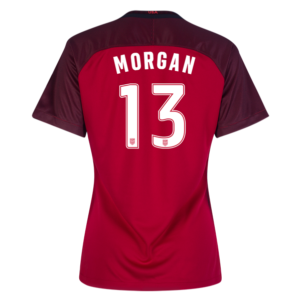 2017/2018 Alex Morgan Third Stadium Jersey #13 USA Soccer