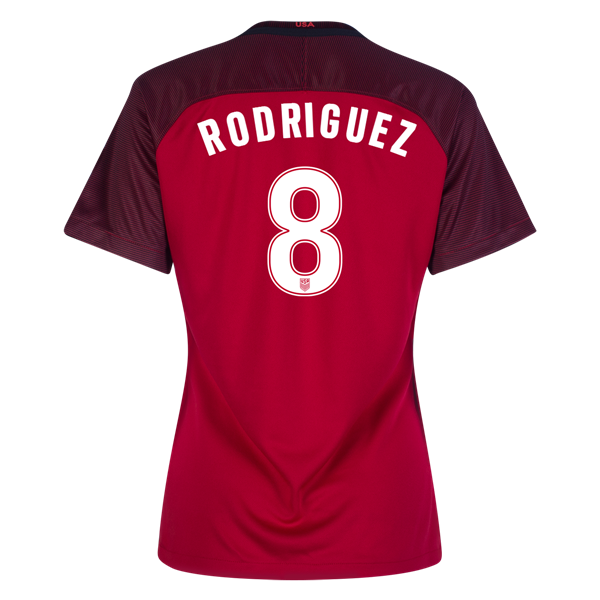 2017/2018 Amy Rodriguez Third Stadium Jersey #8 USA Soccer