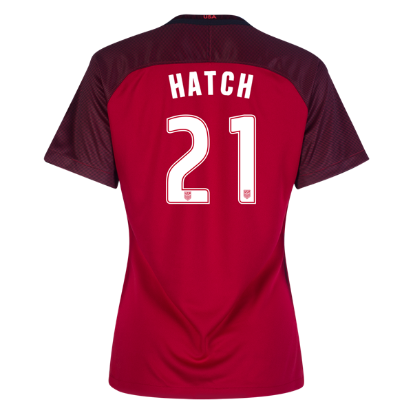 2017/2018 Ashley Hatch Third Stadium Jersey #21 USA Soccer