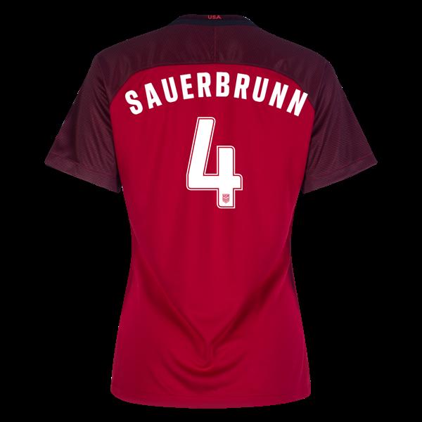 4e7d42ae1 2017 2018 Becky Sauerbrunn Third Stadium Jersey  4 USA Soccer