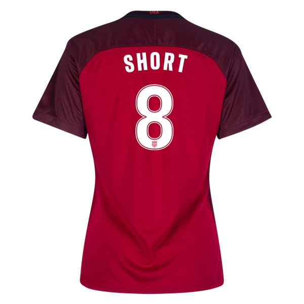 2017/2018 Casey Short Third Stadium Jersey #8 USA Soccer