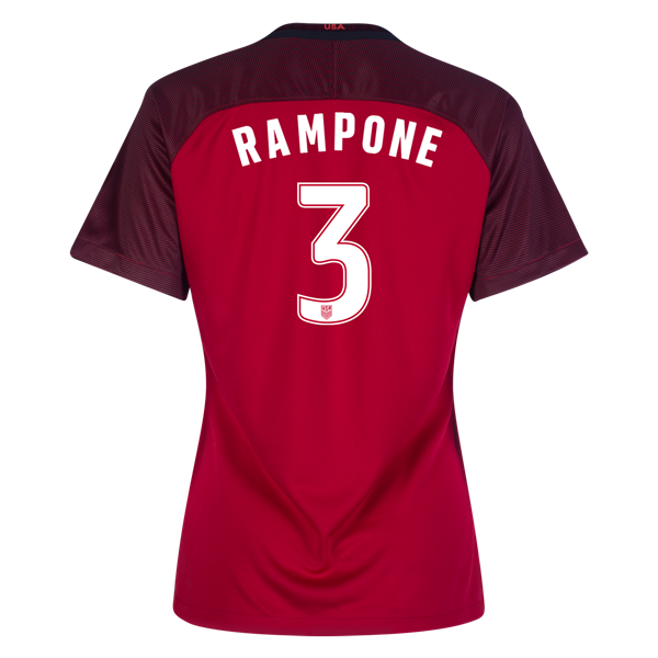 2017/2018 Christie Rampone Third Stadium Jersey #3 USA Soccer