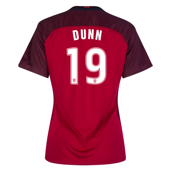 2017/2018 Crystal Dunn Third Stadium Jersey #19 USA Soccer