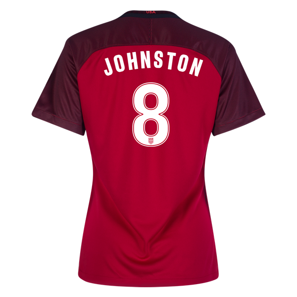 2017/2018 Julie Johnston Third Stadium Jersey #8 USA Soccer