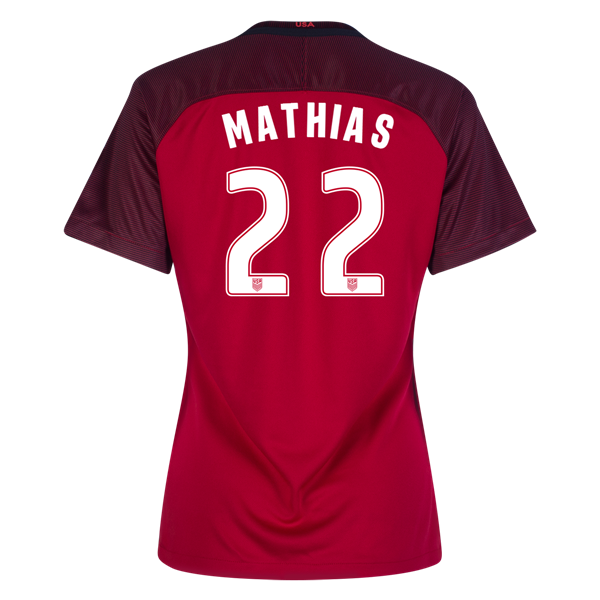 2017/2018 Merritt Mathias Third Stadium Jersey #22 USA Soccer
