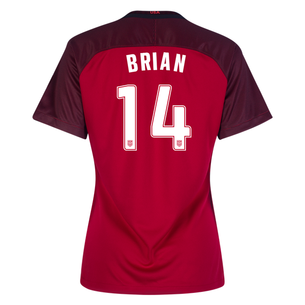 2017/2018 Morgan Brian Third Stadium Jersey #14 USA Soccer