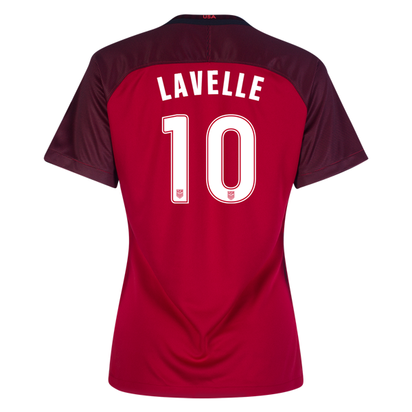 2017/2018 Rose Lavelle Third Stadium Jersey #10 USA Soccer