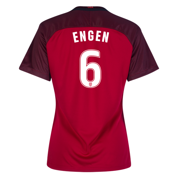 2017/2018 Whitney Engen Third Stadium Jersey #6 USA Soccer
