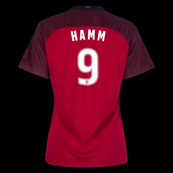 fd40b7d43 Related Products. 2017 2018 Mia Hamm Third Stadium Jersey  9 USA Soccer