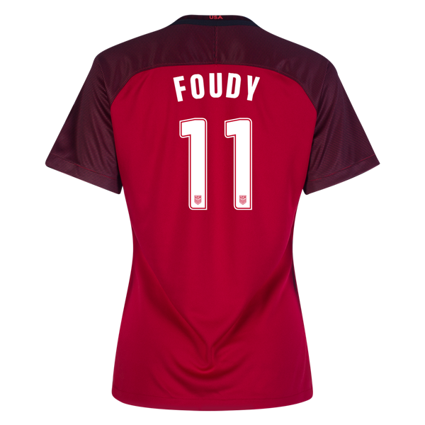 2017/2018 Julie Foudy Third Stadium Jersey #11 USA Soccer