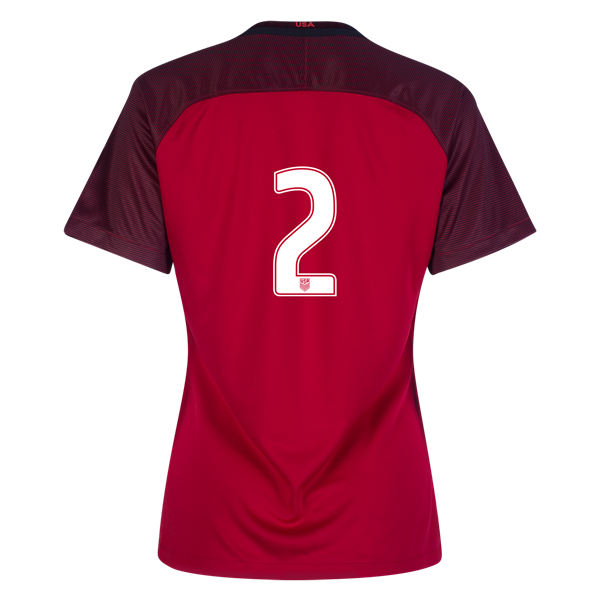 2017/2018 Number Two Third Stadium Jersey #2 USA Soccer