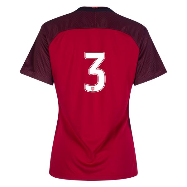 2017/2018 Number Three Third Stadium Jersey #3 USA Soccer