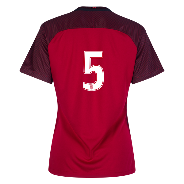 2017/2018 Number Five Third Stadium Jersey #5 USA Soccer