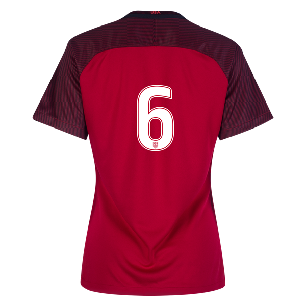 2017/2018 Number Six Third Stadium Jersey #6 USA Soccer