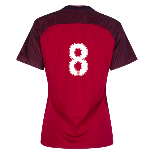 2017/2018 Number Eight Third Stadium Jersey #8 USA Soccer