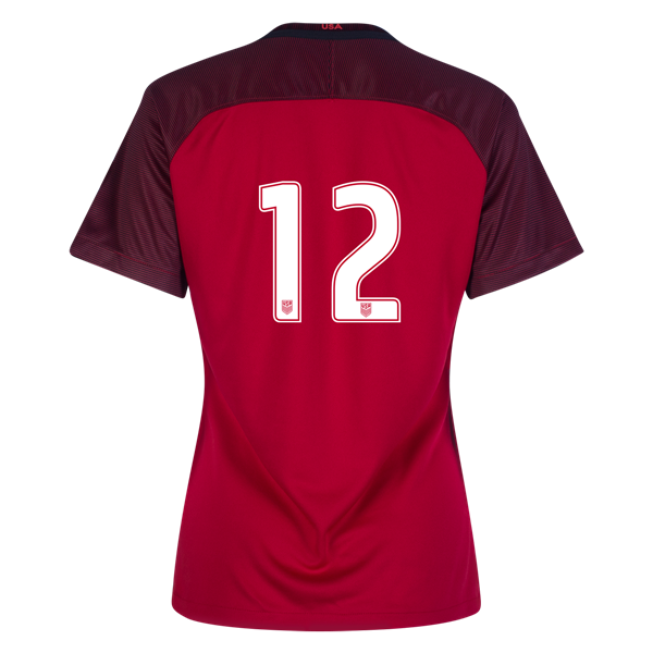 2017/2018 Number Twelve Third Stadium Jersey #12 USA Soccer