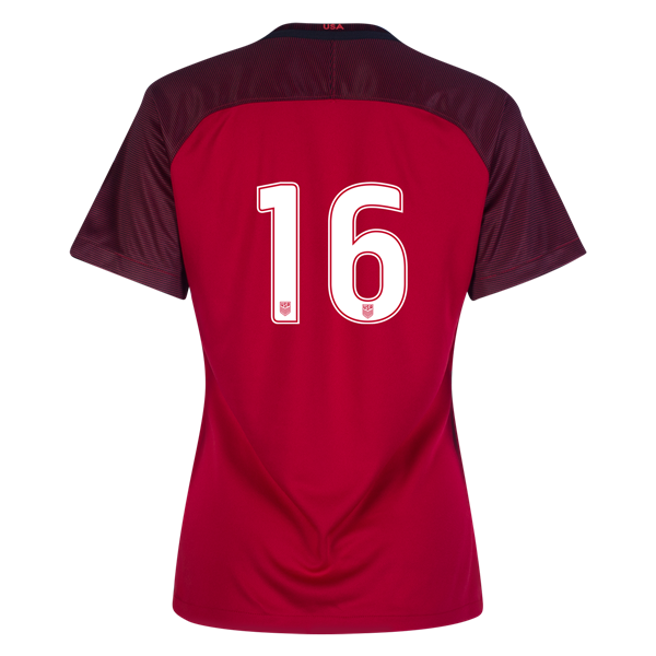 2017/2018 Number Sixteen Third Stadium Jersey #16 USA Soccer