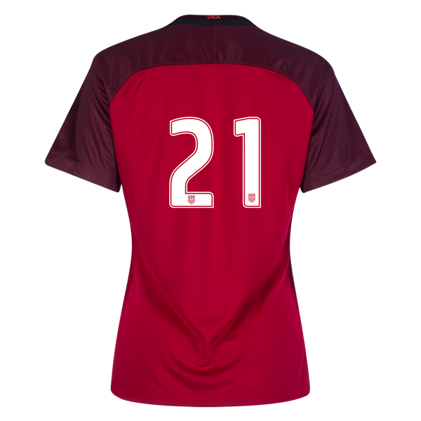 2017/2018 Number Twenty-one Third Stadium Jersey #21 USA Soccer