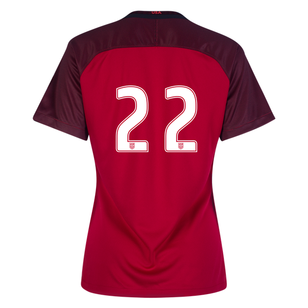 2017/2018 Number Twenty-two Third Stadium Jersey #22 USA Soccer