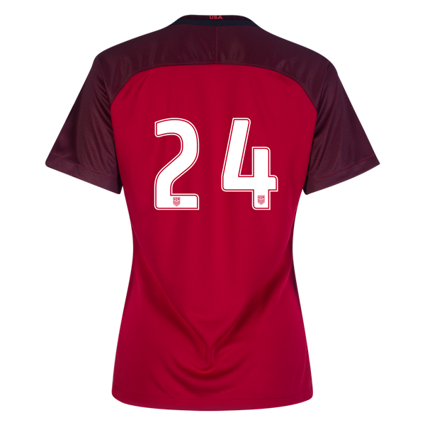 2017/2018 Number Twenty-four Third Stadium Jersey #24 USA Soccer