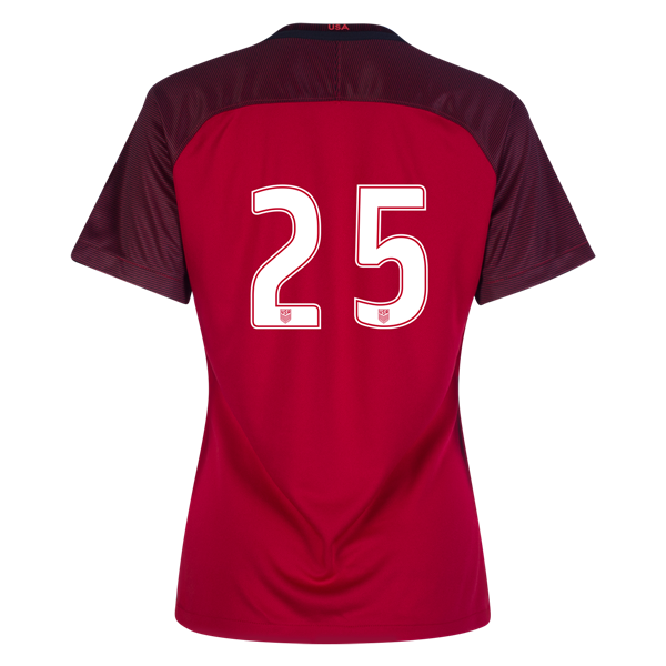 2017/2018 Number Twenty-five Third Stadium Jersey #25 USA Soccer